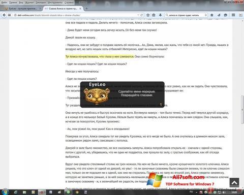 Képernyőkép EyeLeo Windows 7