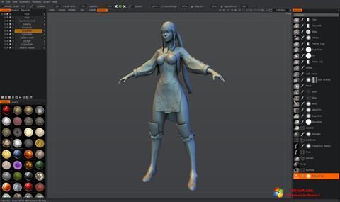 Képernyőkép 3D-Coat Windows 7