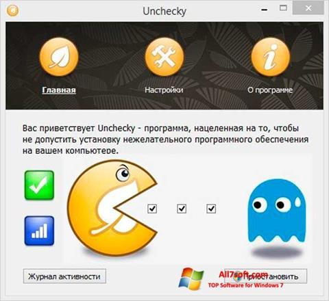 Képernyőkép Unchecky Windows 7