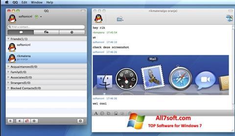 Képernyőkép QQ International Windows 7