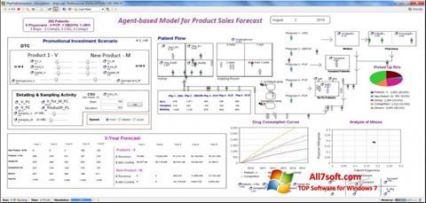 Képernyőkép AnyLogic Windows 7