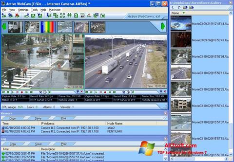 Képernyőkép Active WebCam Windows 7
