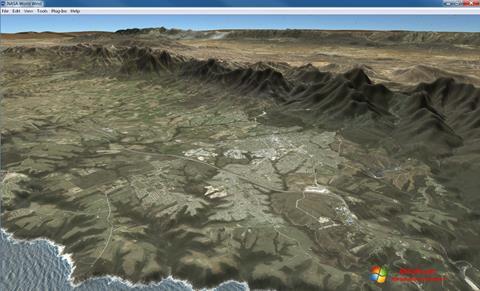 Képernyőkép NASA World Wind Windows 7