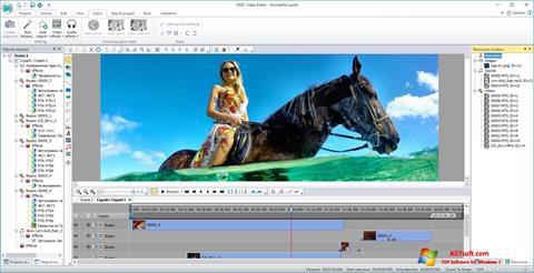 Képernyőkép VSDC Free Video Editor Windows 7